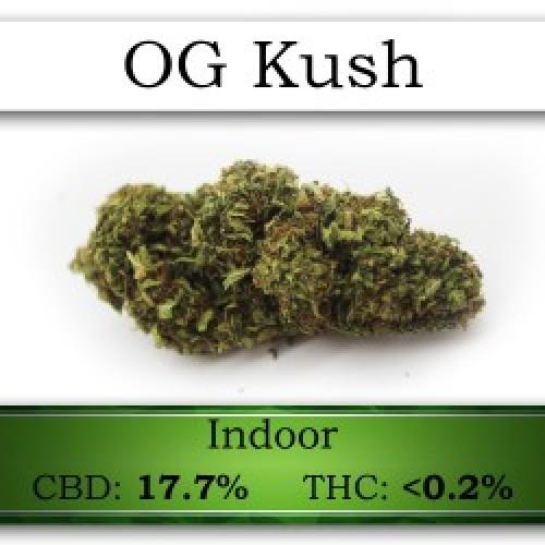 OG Kush CBD Flower 1g