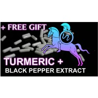 Buy Turmeric and Black Pepper extract Capsules online UK