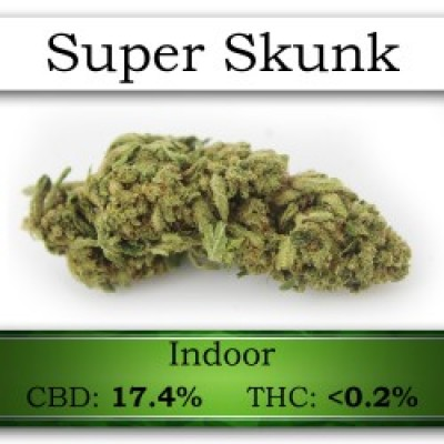 SUPER SKUNK CBD Flower
