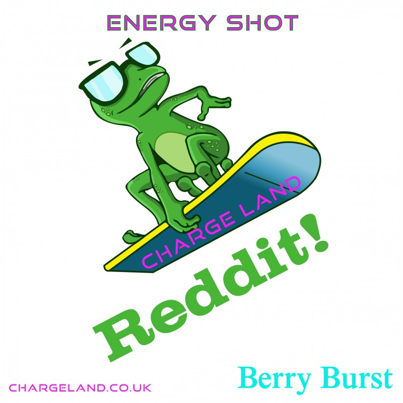 Riddit Berry Burst Energy Shot